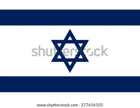 Standard Proportions and Color for Israel Flag