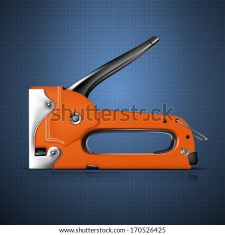 Stapler - stock vector
