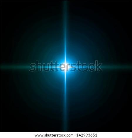 Star burst - stock vector