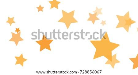 star falling confetti print vector background stock vector hd rh shutterstock com Gold Accent Clip Art Gold Love Clip Art