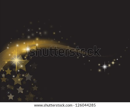 Star Glow - stock vector