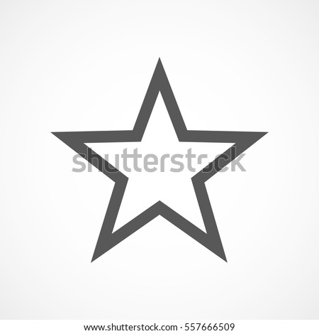 Stars stock images royalty free images vectors shutterstock star icon in flat design gray star icon on white background vector illustration urmus Gallery