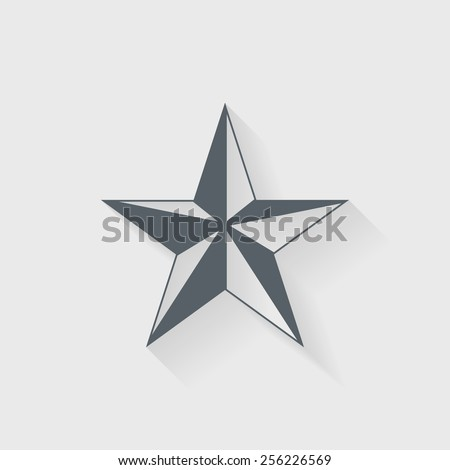 Star icon - Vector - stock vector