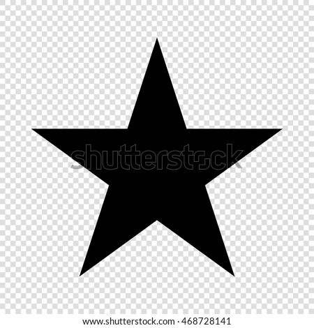 Star icon vector icon black on stock vector 468728141 shutterstock star icon vector icon black on transparent background sciox Images