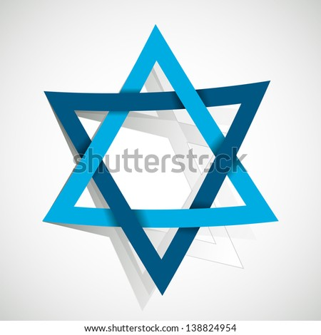 star david made paper cut out stock vector 138824954 shutterstock rh shutterstock com Extra Large Star Pattern to Cut Out Templates to Cut Out Shape