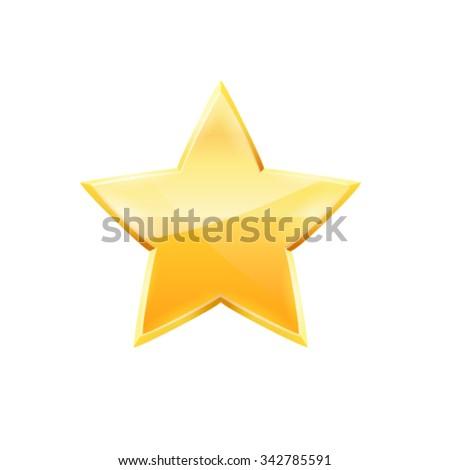 Star. Vector - stock vector
