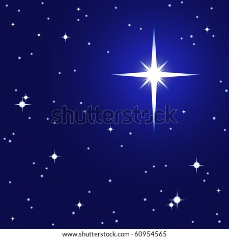 Starry sky, starry background, all parts closed, editing is possible. Vector illustrations. - stock vector