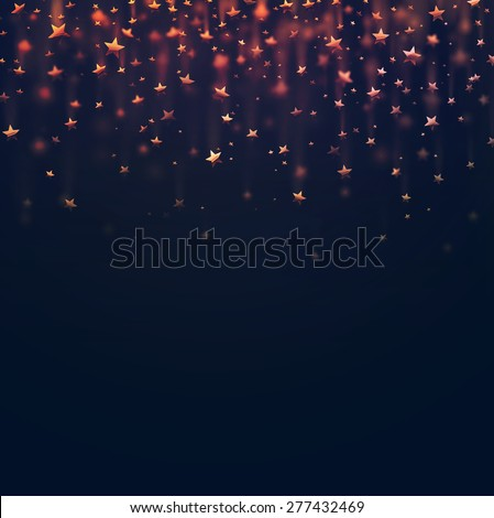 Stars abstract background, eps 10 - stock vector