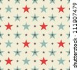 stars seamless pattern - stock photo