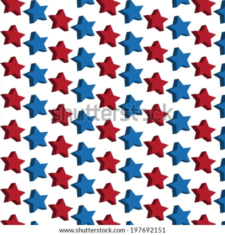 stars seamless pattern vector background