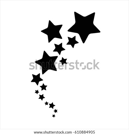 16 star trail tattoo designs shooting stars vector stock images royalty free images. Black Bedroom Furniture Sets. Home Design Ideas