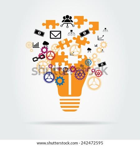 Start-up business concept - stock vector