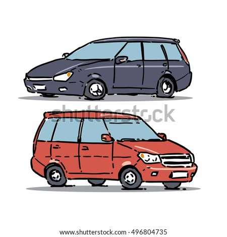 Stock photos royalty free images vectors shutterstock for Station wagon coloring pages