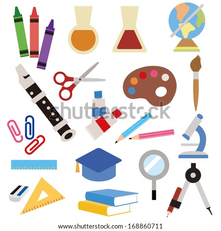 stationery icon - stock vector