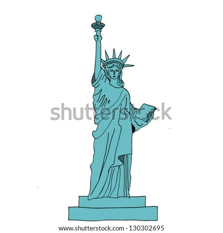 Statue of liberty.