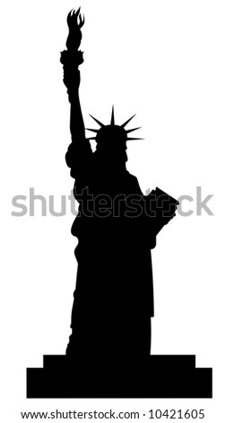 statue of liberty vector file