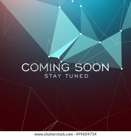 stay tuned coming soon text on stock vector 499604734 - shutterstock
