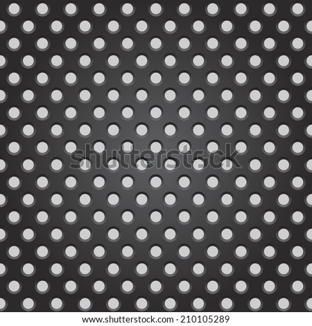 Steel grate background pattern illustration - stock vector