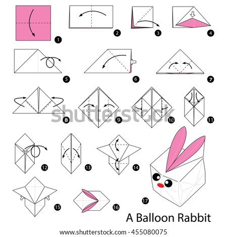 origami bunny box instructions