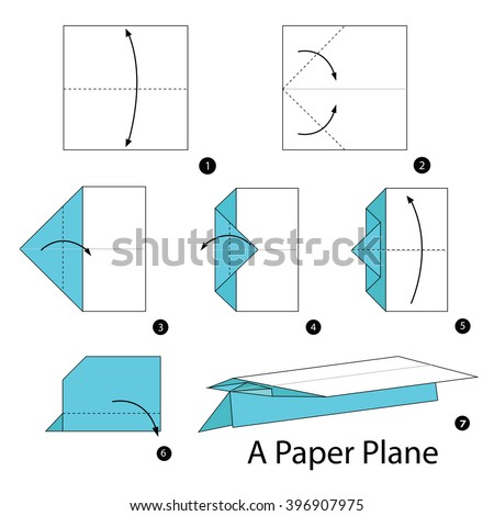 paper airplane step by step instructions