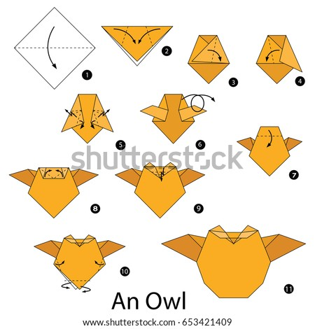 Step By Step Instructions On How To Make An Origami Cat