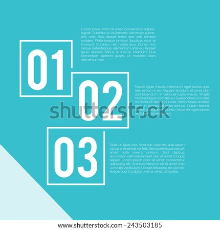 Steps Presentation Template | EPS10 Vector - stock vector