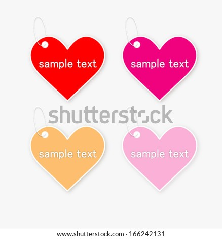Valentines day heart sale banner design stock vector 556353805 sticker price tag gift heart vector negle Gallery