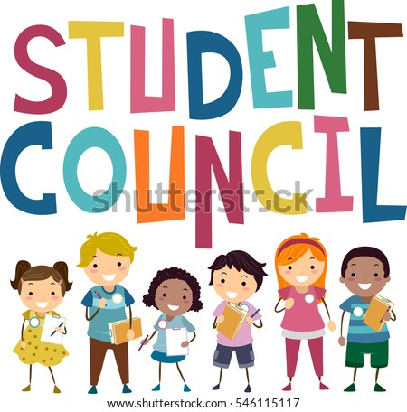 stickman illustration featuring preschool kids campaigning stock rh shutterstock com Student Government Student Government