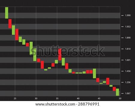Stock-market - stock vector