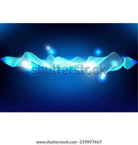 Stock Vector Abstract Background Wallpaper Technology