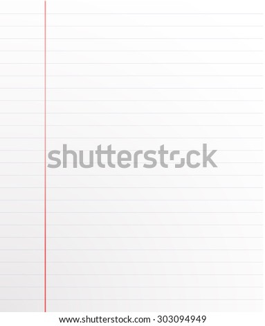 stock vector background the sheet from a school notebook