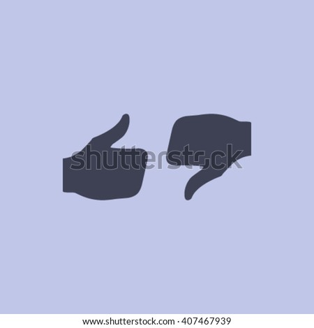 stock vector thumbs up icon vector like icon social network
