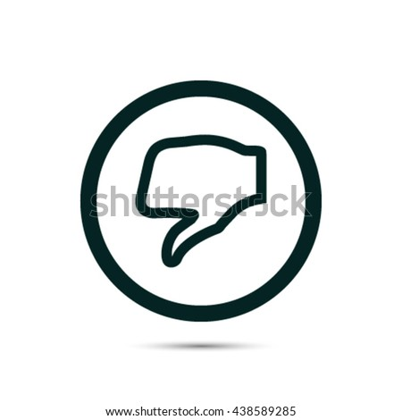 stock vector thumbs up icon vector like icon social network vect