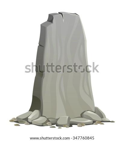 Stone - stock vector
