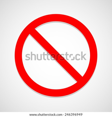 Stop icon great for any use. Vector EPS10.