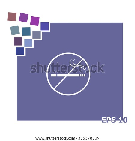 Stop of military machine,automatic - stock vector