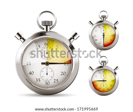 Stopper - countdown 1 - stock vector
