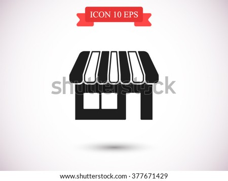 Store icon, Store icon eps 10, Store icon vector, Store icon illustration, Store icon jpg, Store icon picture, Store icon flat, Store icon design, Store icon web, Store icon art, Store icon JPG, - stock vector