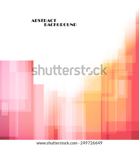 Straight lines abstract color background, vector art Illustration - stock vector