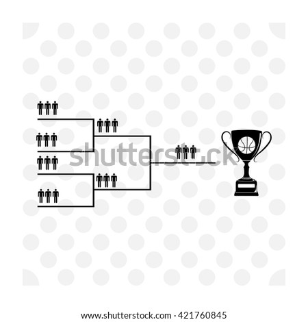 Street ball 3x3 icon. Street ball 3x3 vector. Simple icon isolated on white background. - stock vector