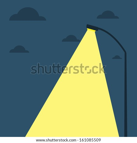 Street Lights - stock vector