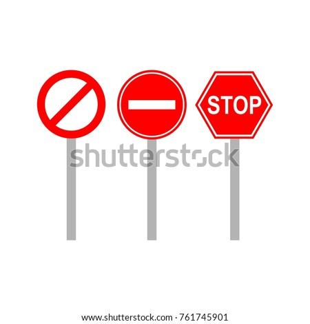 Stop sign traffic stock images royalty free images vectors street signs template logo pronofoot35fo Images