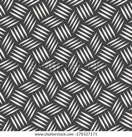 stripe cube pattern - stock vector