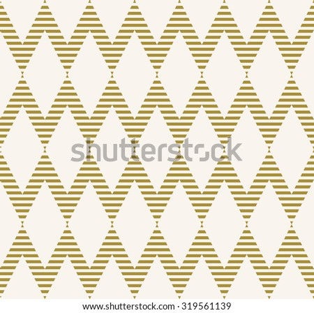 striped chevron pattern. seamless vector background.