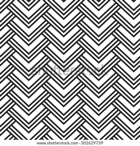 striped geometric pattern - stock vector