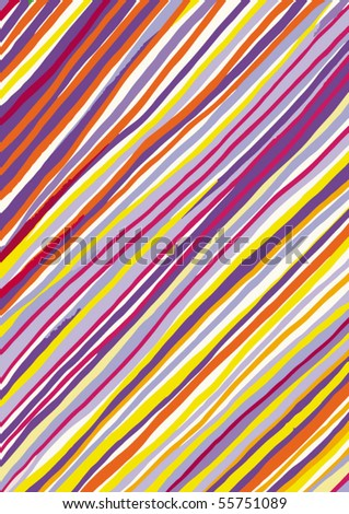 Striped Pattern - stock vector