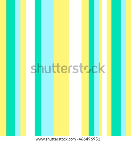Striped pattern with stylish and bright colors. Blue, green and yellow stripes