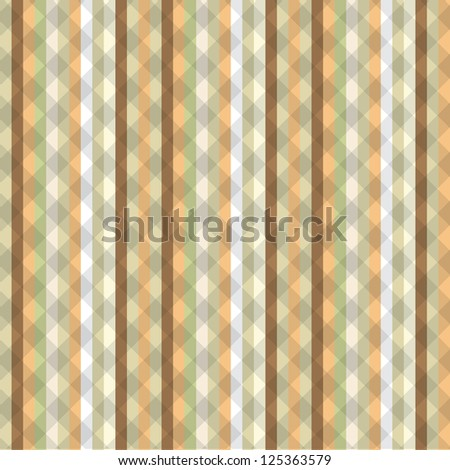Striped seamless vintage pattern with vertical strips in vector format - stock vector