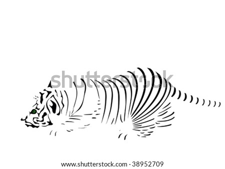 Strips of tiger