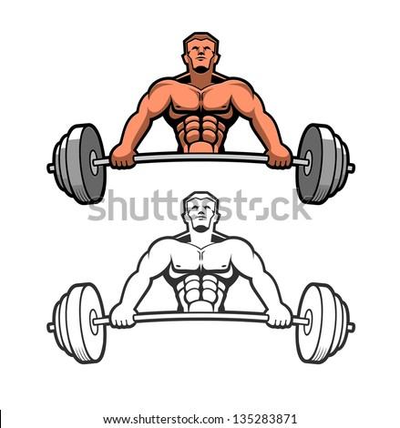 Strong man Stock Photos  Illustrations  and Vector ArtStrong Man Logo